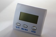 HYGROMETER-Digital room Humidifier/Temperature display.