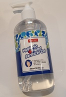 HYGIENIC HAND SANITIZER GEL 72% ALCOHOL 300ML PUMP DISPENSER -GOODBYE GERMS!
